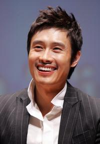 Lee Byung-Hun at the promotion of a new jewellery collection