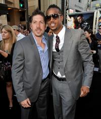 Ray Park and Marlon Wayans at the special screening of