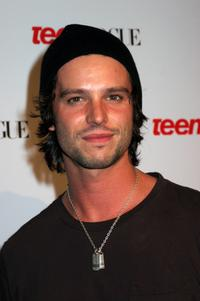 Jason Behr at the Teen Vogue Young Hollywood Party.