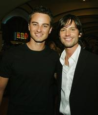 Kerr Smith and Jason Behr at the premiere of