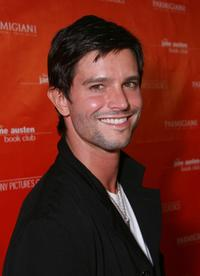 Jason Behr at the premiere of