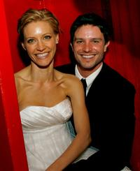 KaDee Strickland and Jason Behr at the after party reception of