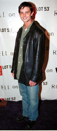 Jason Behr at the L.A. wrap party for