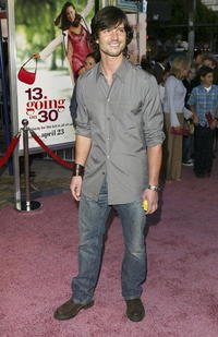 Jason Behr at the L.A. premiere of