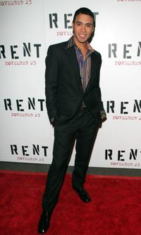 Wilson Jermaine Heredia at the premiere of