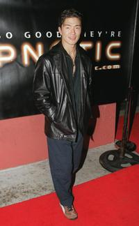 Rick Yune at the Hypnotic.com launch party.