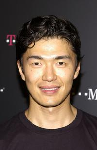 Rick Yune at the launch party of new T-Mobile Sidekick wireless device.