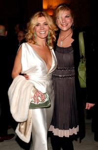 Natasha Richardson and Kristen Johnston at the after party of the premiere of