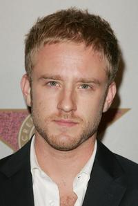 Ben Foster at the Award Of Excellence Star presentation for the Screen Actors Guild.