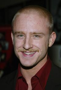 Ben Foster at the Hollywood premiere of