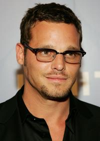 Justin Chambers at the Whitney Contemporaries hosted ARTPARTY.
