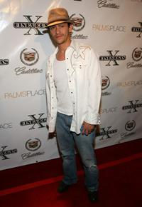 Clifton Collins, Jr. at the 2008 CineVegas film festival 10th anniversary party.