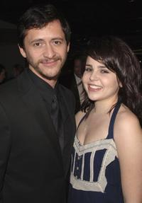 Clifton Collins, Jr. and Mae Whitman at the premiere screening of