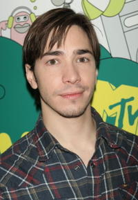 Justin Long during MTV's Total Request Live in N.Y.