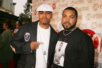 Omar Gooding and Executive Producer Ice Cube at the premiere of