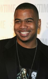 Omar Gooding at the after party of Showtime Emmy.