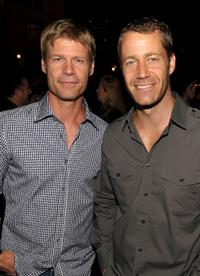 Joel Gretsch and Colin Ferguson at the EW and SyFy party during the Comic-Con 2010.