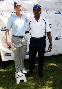 Joel Gretsch and Dennis Haysbert at the AMPTV's 9th Annual Celebrity Golf Classic.