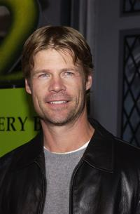 Joel Gretsch at the Shrek 2 DVD release party.