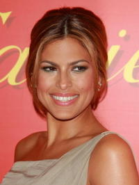 Eva Mendes at a Cartier charity event.
