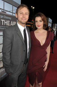Jimmi Simpson and Melanie Lynskey at the California premiere of
