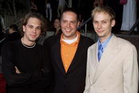 Tom Sadowski, Zack Orth and Jimmi Simpson at the premiere of
