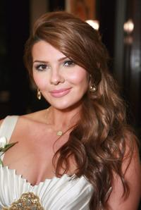 Ali Landry at the Perrier-Jouet and Women In Film Honors Female Oscar Nominees event.