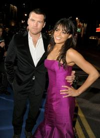 Sam Worthington and Michelle Rodriguez at the premiere of