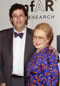 Tony Kushner and Dr. Mathilde Krim at the 5th Annual AmFAR Honoring with Pride Gala.