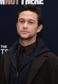 Joseph Gordon-Levitt at the special cocktail reception and panel discussion of
