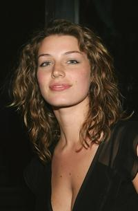 Jessica Pare at the Calvin Klein Underwear Party.