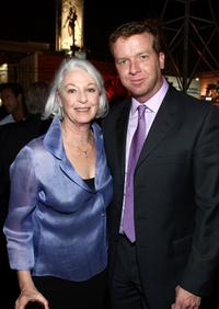 Jane Alexander and McG at the after party of the premiere of