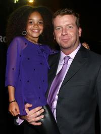 Jadagrace Berry and McG at the premiere of