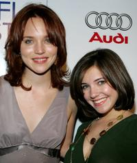 Erica Leerhsen and Michelle Horn at the screening of