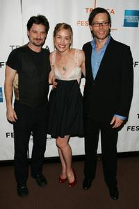 Shea Whigham, Piper Perabo and Guy Pearce at the premiere of
