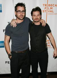 Colin Farrell and Shea Whigham at the premiere of