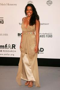 Michelle Rodriguez at the Cinema Against Aids 2007 in aid of amfAR.