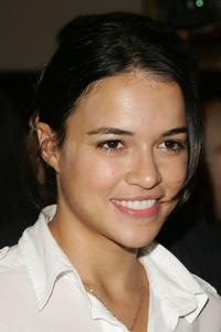 Michelle Rodriguez at the United Nations to announce an Aids Awarnees world tour.