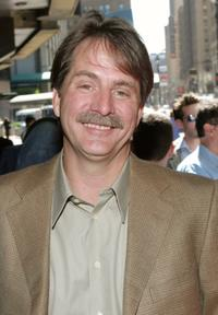 Jeff Foxworthy at the WB Upfront at Madison Square Garden.