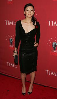 Zhang Ziyi at the Time Magazines celebration of the 100 most influential people.