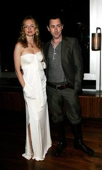 Heather Graham and Alan Cumming at The Times BFI 51st London Film Festival after party following the UK premiere of
