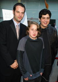 Director Jacob Estes, Rory Culkin and Josh Peck at the premiere of