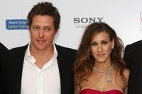 Hugh Grant and Sarah Jessica Parker at the London premiere of