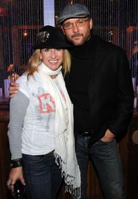 Heidi Newfield and Tim McGraw at the Nashville premiere of
