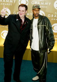 Quentin Tarantino and RZA at the 46th Annual Grammy Awards.