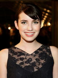 Emma Roberts at the premiere of
