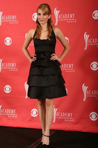Emma Roberts at the 42nd annual Academy of Country Music Awards in Las Vegas.