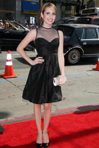 Emma Roberts at the Hollywood premiere of