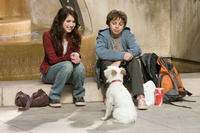 Emma Roberts and Jake T. Austin in