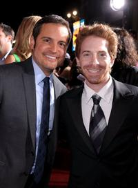 Director Walter Becker and Seth Green at the California premiere of
